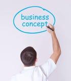 Concept d'affaires Image libre de droits