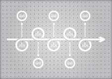 Concept d'affaires Image stock