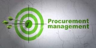 Concept d'affaires : cible et fourniture Photo libre de droits