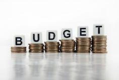 Concept d'affaires d'†de budget « photographie stock libre de droits