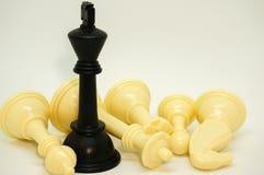 Concept d'affaires d'échecs Image libre de droits