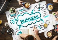 Concept d'affaires de commerce de promotion de vente de publicité Photo stock