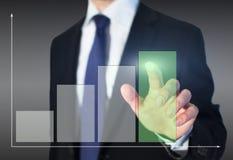 Concept d'affaires de croissance photographie stock