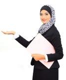 Concept d'affaires de Muslimah Images libres de droits