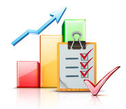 Concept d'affaires de réussite Image stock