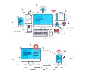 Concept d'affaires de schéma Image stock