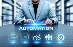 Concept d'affaires de système de processus de génie logiciel d'automation images libres de droits