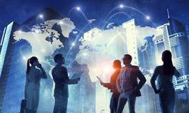 Concept d'affaires globales photo stock