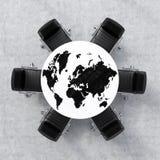 Concept d'affaires globales Photos stock
