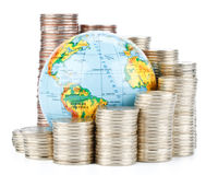 Concept d'affaires globales Images libres de droits