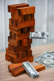 Concept d'affaires Planification des affaires par l'investisseur Investissement productif moderne avec des beaucoup argent Le pla Image stock