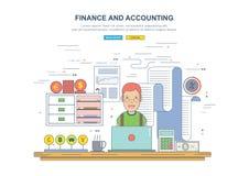 Concept d'affaires pour des finances Photo libre de droits