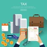 Concept d'affaires pour des finances Images libres de droits