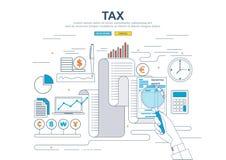 Concept d'affaires pour des finances Photo stock