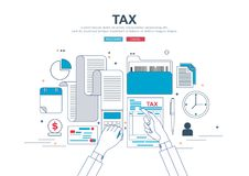 Concept d'affaires pour des finances Image libre de droits