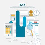 Concept d'affaires pour des finances Illustration de vecteur photographie stock