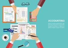 Concept d'affaires pour des finances Illustration de vecteur photographie stock libre de droits