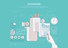 Concept d'affaires pour des finances Illustration de vecteur photos libres de droits