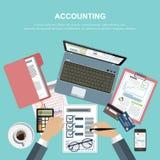 Concept d'affaires pour des finances Illustration de vecteur photos stock