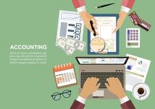 Concept d'affaires pour des finances Illustration de vecteur photo libre de droits