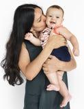 Concept d'affection d'amour de mère et d'enfant Photos libres de droits