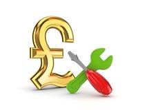 Concept d'aide financière. Illustration Stock