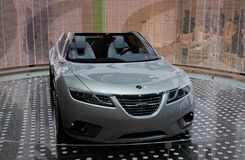 Concept d'air de Saab 9-X Photographie stock libre de droits