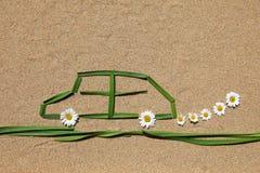 Concept d'air pur : automobile Image stock