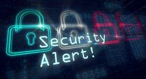 Concept d'alerte sécurité photo libre de droits