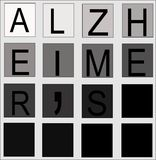 Concept d'Alzheimers Photographie stock libre de droits