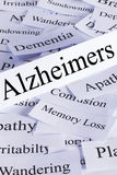 Concept d'Alzheimers images stock