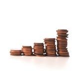 Concept d'amélioration avec l'argent Photo libre de droits