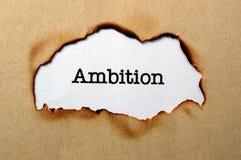 Concept d'ambition Image libre de droits