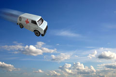 Concept d'ambulance photo stock