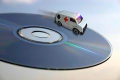 Concept d'ambulance - soins de santé de technologies Images stock