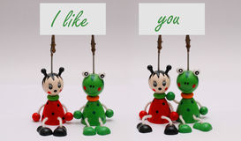 Concept d'amitié Photo stock