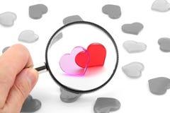 Concept d'amour Photos libres de droits