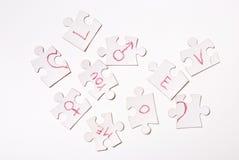 Concept d'amour Image libre de droits