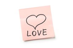 Concept d'amour Photos stock