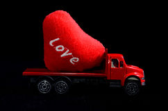 Concept d'amour Photo stock
