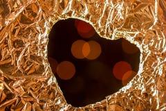 Concept d'amour avec l'icône en forme de coeur Image libre de droits