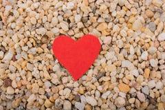 Concept d'amour avec l'icône en forme de coeur Photo libre de droits
