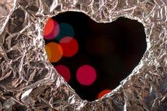 Concept d'amour avec l'icône en forme de coeur Photos stock