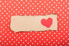 Concept d'amour avec l'icône en forme de coeur Photographie stock