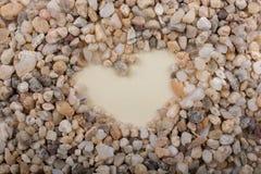 Concept d'amour avec l'icône en forme de coeur Photo stock