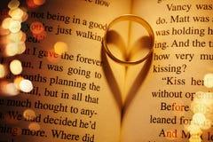 Concept d'amour avec la boucle de mariage Photos libres de droits