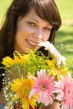 Concept d'amour avec la fleur Images stock
