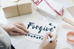 Concept d'amour d'espoir de foi de croyance Photo stock
