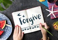 Concept d'amour d'espoir de foi de croyance Photo libre de droits
