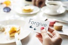 Concept d'amour d'espoir de foi de croyance Image stock